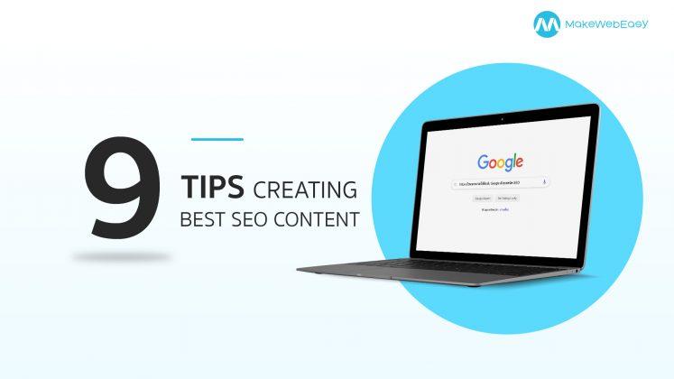 9 Tips เขียนบทความให้ติดอันดับ Google ด้วยเทคนิค SEO
