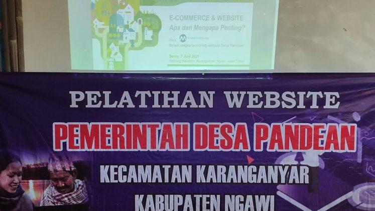 Pelatihan Website Desa Pandean_Desa Digital by MakeWebEasy