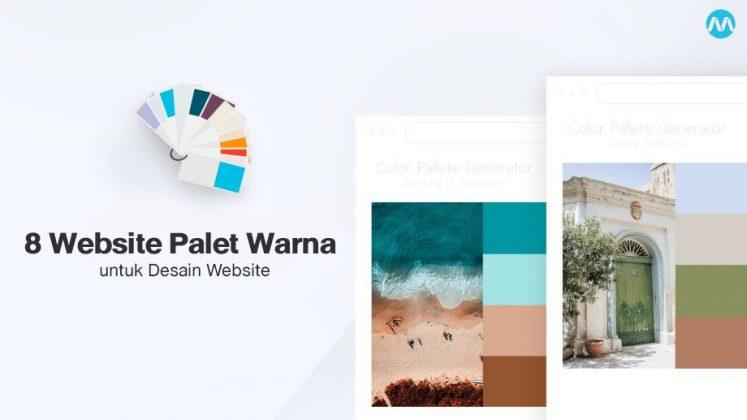 8 Website Palet Warna yang Membantu dalam Desain Website