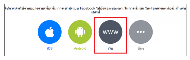 Platform of Facebook Login