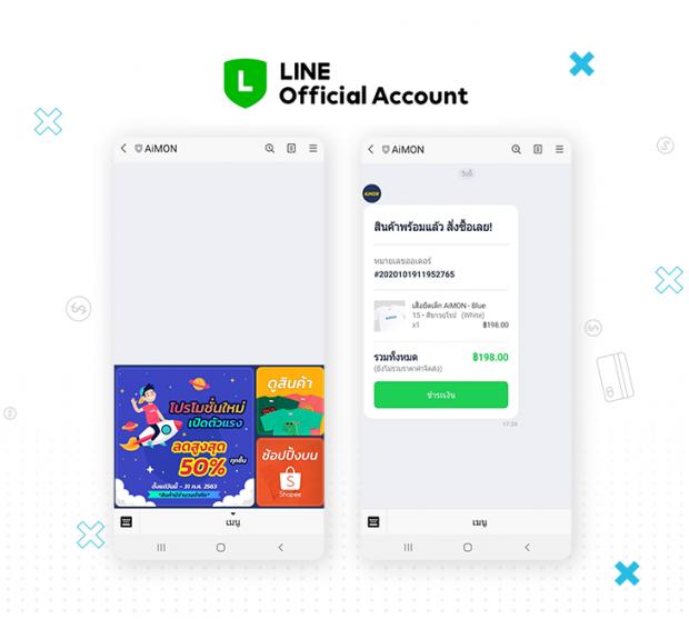 โปรโมทสินค้าผ่านไลน์ Official Account และ LINE My Shop