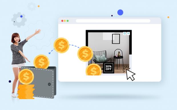 เมื่อคลิกที่โฆษณา เจ้าของเว็บจะได้เงินเข้ากระเป๋าจาก Google