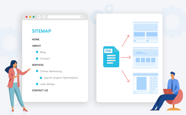 Sitemap กับ XML Sitemap