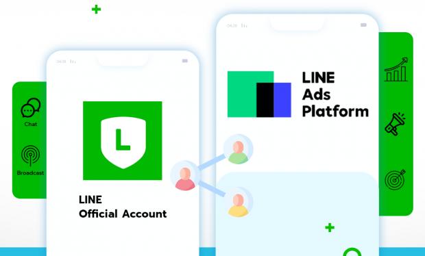 เลือกเมนู การจัดการข้อมูล > กลุ่มเป้าหมาย  คลิกปุ่ม สร้างใหม่ มุมขวาบน เลือก ประเภทกลุ่มเป้าหมาย เป็น กลุ่มเป้าหมายที่เข้าชมเว็บไซต์  เลือก LINE Tag ที่ติดตั้งอยู่บนเว็บไซต์ กำหนด เป้าหมายที่ต้องการ และกำหนดช่วงเวลาอายุการใช้งานตั้งแต่ 1-180 วัน     แชร์กลุ่มเป้าหมายไปยัง LINE Ads Platform