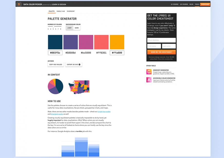 Data Color Picker