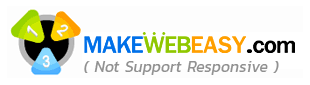 MakeWebEasy Not Support Responsive